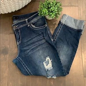 Rue 21 cropped jeans